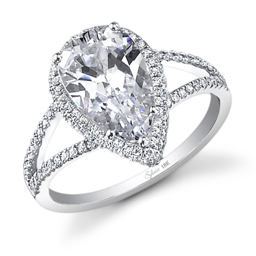 destiny gallery diamonds brides ring bride pear cut for diamond engagement teardrop every two rings shaped with round