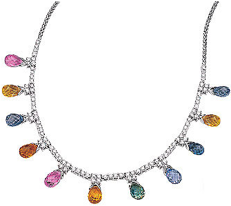 gem necklace - masica