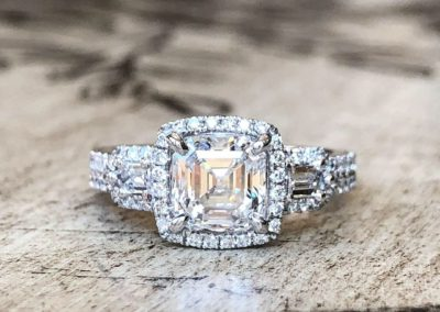 Classically Modern Collection [asscher cut]